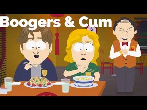 Boogers & Cum (Yelper's Special)-South Park (Lyrics)