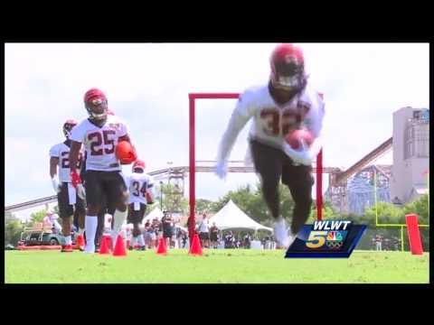 Watch: 1st day of practice for Cincinnati Bengals