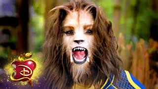 Ben Turning into the Beast! 👑  Behind the Scenes   Descendants 3