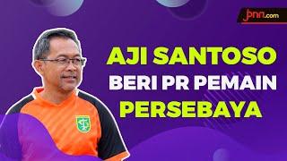 Libur Karena Corona, Aji Santoso Minta Pemain Persebaya Latihan di Rumah - JPNN.com