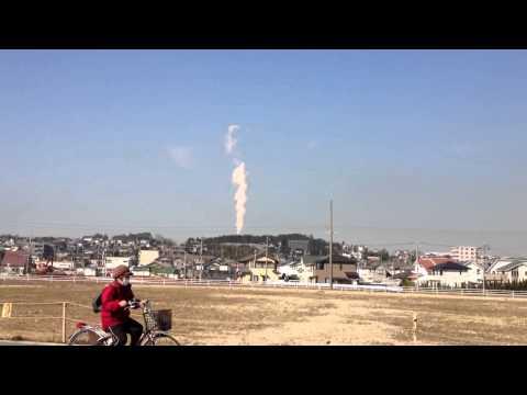 異様な光景 地震雲 ? Earthquake cloud extraordinary spectacle?