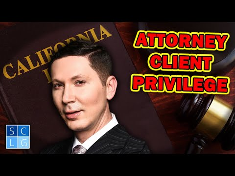 Attorney-Client Privilege – 3 times it does not apply
