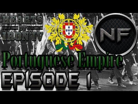 Hearts of Iron IV | Episode 1: Portuguese Empire!! | Black ICE ( hoi4 )