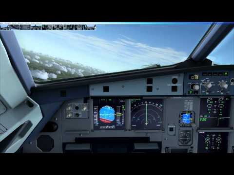 FSX/P3D Aerosoft Airbus A318 and A319 control systems and fly by wire control laws.