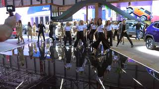 Geneva International Motorshow 2018 Fiat  Company Hostess Dance