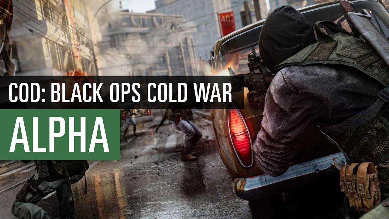 Call of Duty: Black Ops Cold War   Alpha-Fazit: Ein gefühlter Schritt zurück