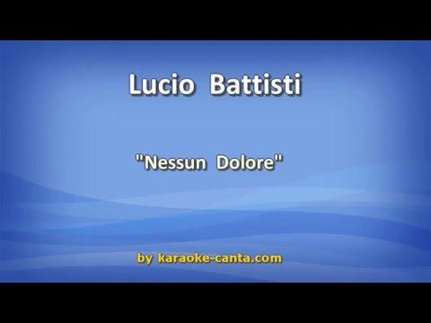 Lucio Battisti - Nessun Dolore (Video karaoke)