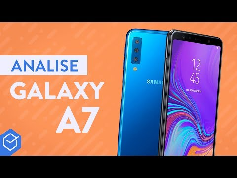 SAMSUNG GALAXY A7 2018 Vale A Pena?   Análise / Review Completo!