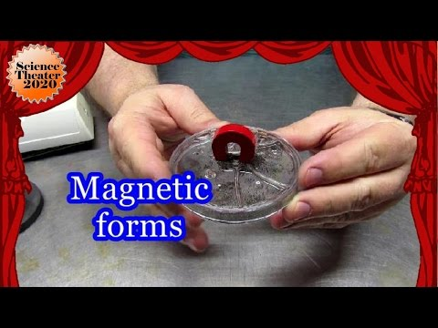 Magnetic field forms for study  two minutes of science
