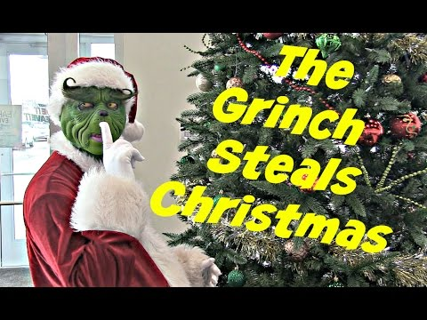 The Grinch Steals Christmas from Jenkins and Wynne