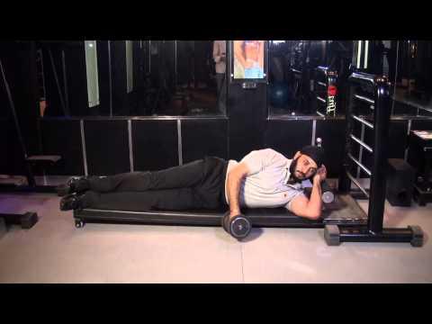 SHOULDERS/DELTS (REAR) - Side Lying Lateral Raises