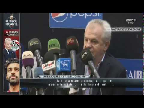 Javier Aguirre fue presentado con Egipto - Futbol Picante