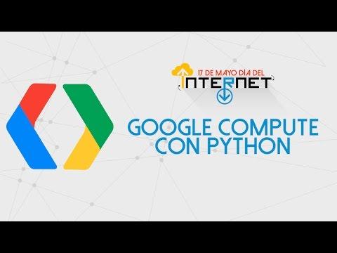 Taller de Google Compute con Python