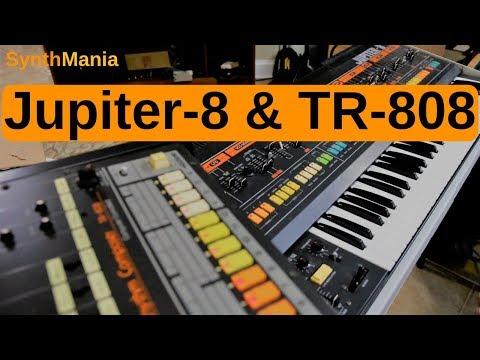 Jupiter-8 & TR-808 Nov 16, 2018