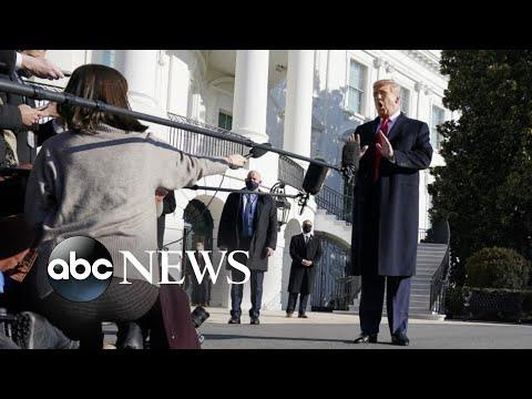 Trump makes 1st public appearance since …