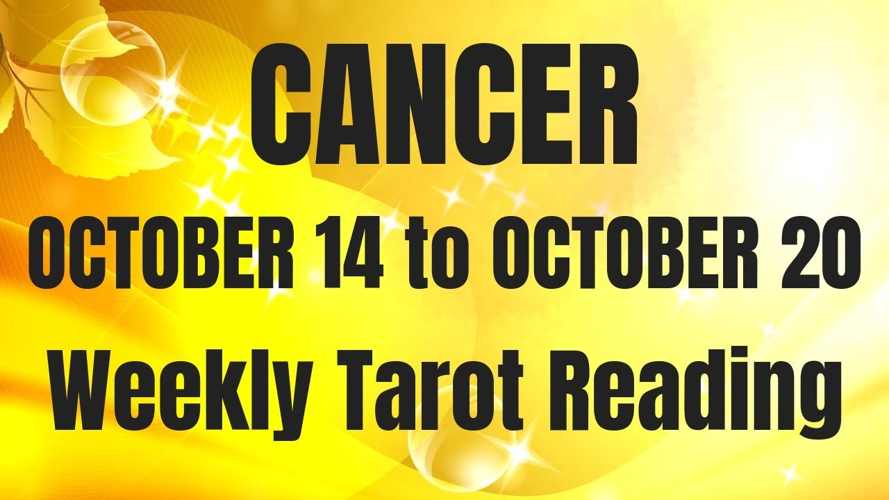 cancer tarot weekly 14 to 20