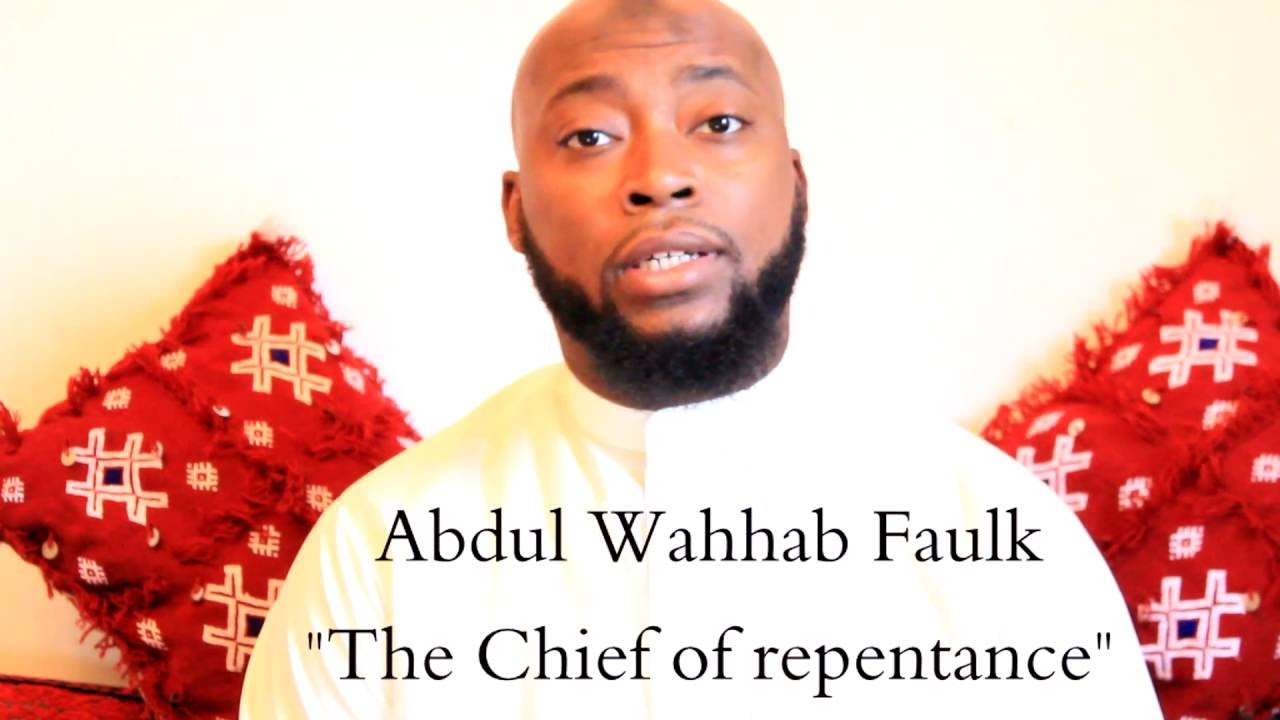 The Chief Of Repentance
