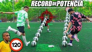 GANAMOS a ROBERTO CARLOS!! RECORD DE POTENCIA Challenge ft. Papi Gavi & Vituber