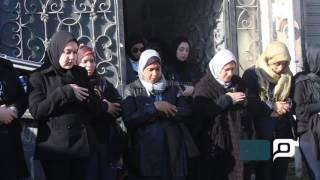 بالفيديو.. تشييع جثامين الأشقاء الثلاثة ضحايا حادث أتوبيس نويبع