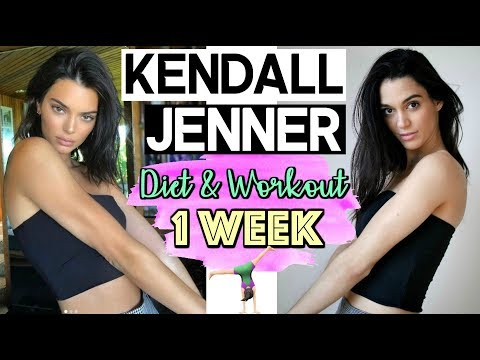 I tried kendall Jenner's DIET & WORKOUT for 1 WEEK!! // PART 2