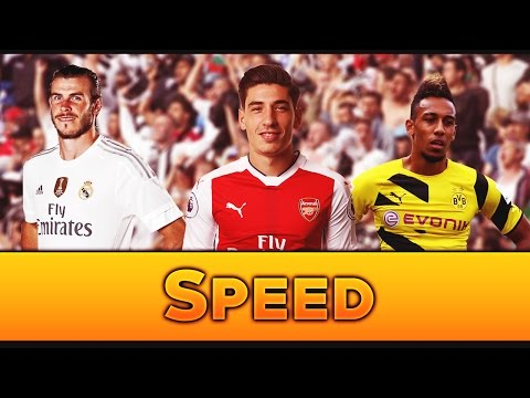 Top 5 Fastest Football Players 2017 ● HD