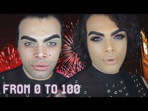CHIT CHAT GRWM NYE FULL GLAM - FROM 0 to 100 REAL QUICK