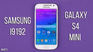 Распаковка Samsung Galaxy S4 Mini VE I9192i White