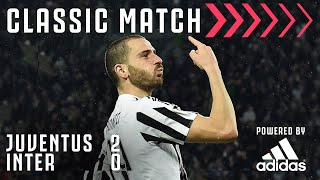 Juventus 2 0 Inter Bonucci Morata Extend the League Lead Classic Match Powered by Adidas