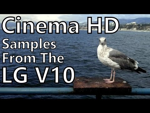 LG V10 Cinema HD Camera Test: Cloudy Day in Santa Monica
