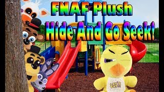 FNAF Plush Season 4 Episode 8: Hide And Go Seek!