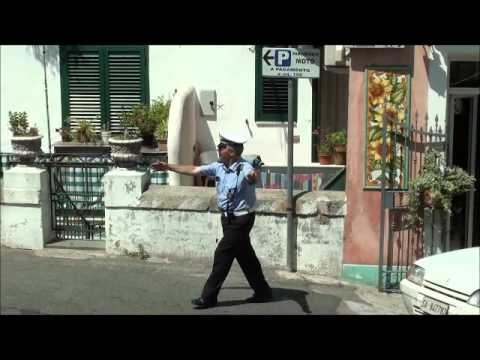 Italian Traffic Police Officer, Amalfi Coast.