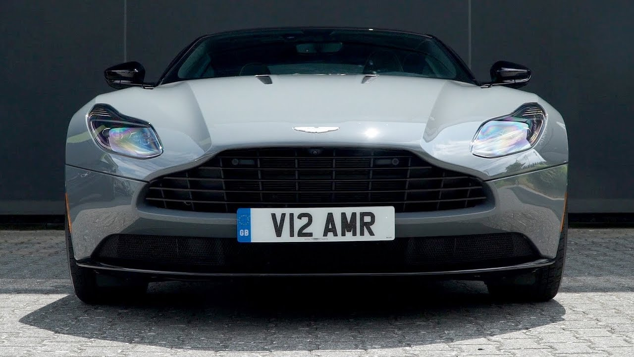 2019 Aston Martin Db11 Amr China Grey Driving Interior Exterior Youtube