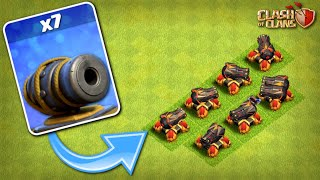 7x CANNONS REMAIN! TH12 Farm to Max | Clash of Clans