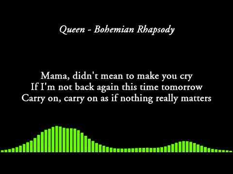 Queen - Bohemian Rhapsody [LYRICS]