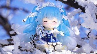 「ねんどろいど 雪ミク Snow Princess Ver.」一緒におでかけしてみた☆