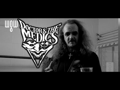 Dr and the Medics interview - Whitby Goth Weekend April 2015