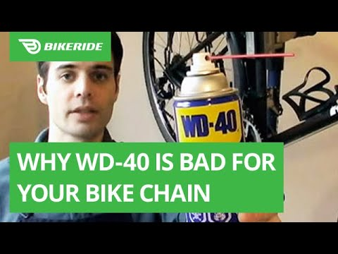 Why WD-40 is Bad for Your Bike Chain