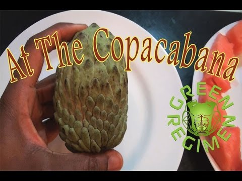 Lose Weight with this Unknown Fruit - At the Copacabana Smoothie - Green Regimen