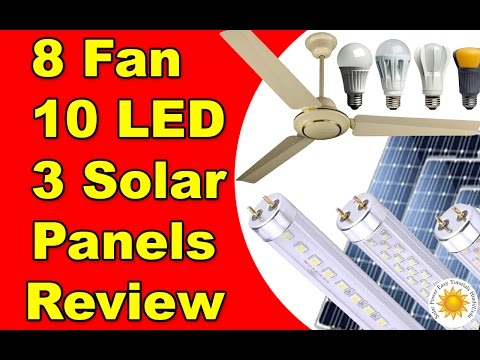 450 Watts Solar system 8 Fan 10 led Lights Detail in Urdu Hindi