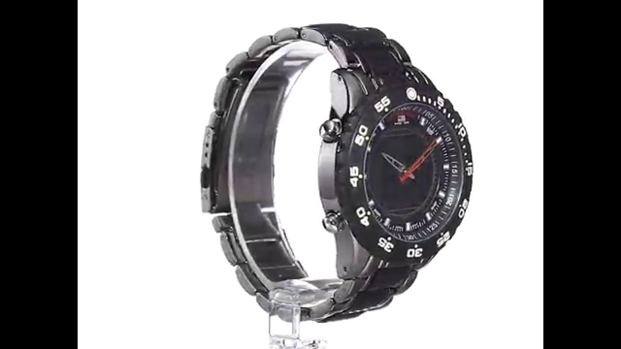7c7bdc41e70 Relógio U S Polo Assn Sport Men s Black and Gunmetal Masculino - YouTube