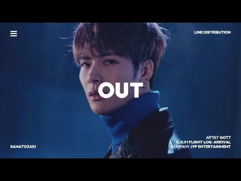 GOT7 (갓세븐) - OUT | Line Distribution