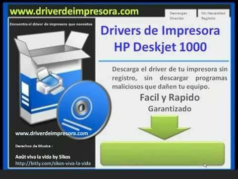 Драйвер HP Deskjet 1000 J110 Series