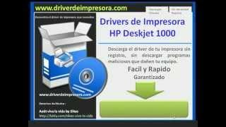 Descargar Drivers de Impresora Hp Deskjet 1000
