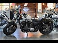 Harley-Davidson Sportster Forty-Eight (XL1200X) Crushed Ice Denim 2017