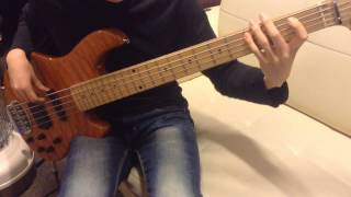 Mark Ronson-Uptown Funk (Feat. Bruno Mars) Bass Cover