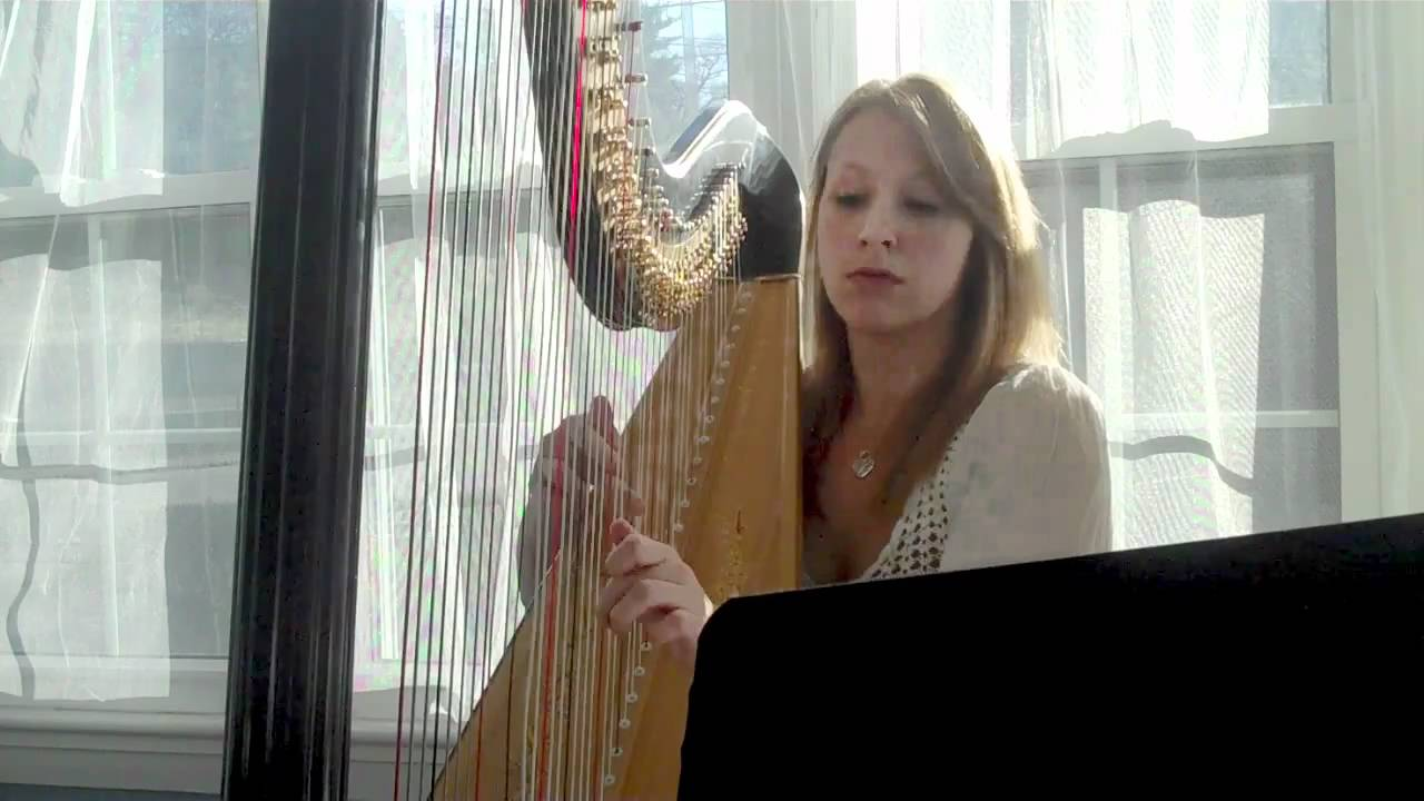 Pachelbels Canon In D On Harp HD