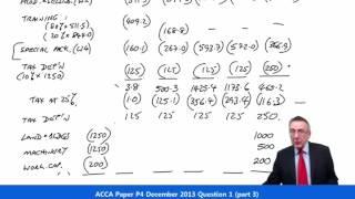 acca p4 question 1 december 2013 part 3