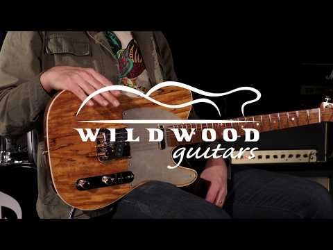 Fender Custom Shop Wildwood 10 Artisan Telecaster - Spalted Maple  •  SN: CZ532987