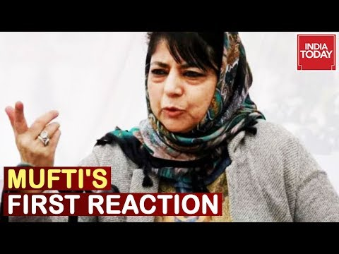 'Black Day For Democracy' Mehbooba Mufti's First Reaction On Scrapping Article 370