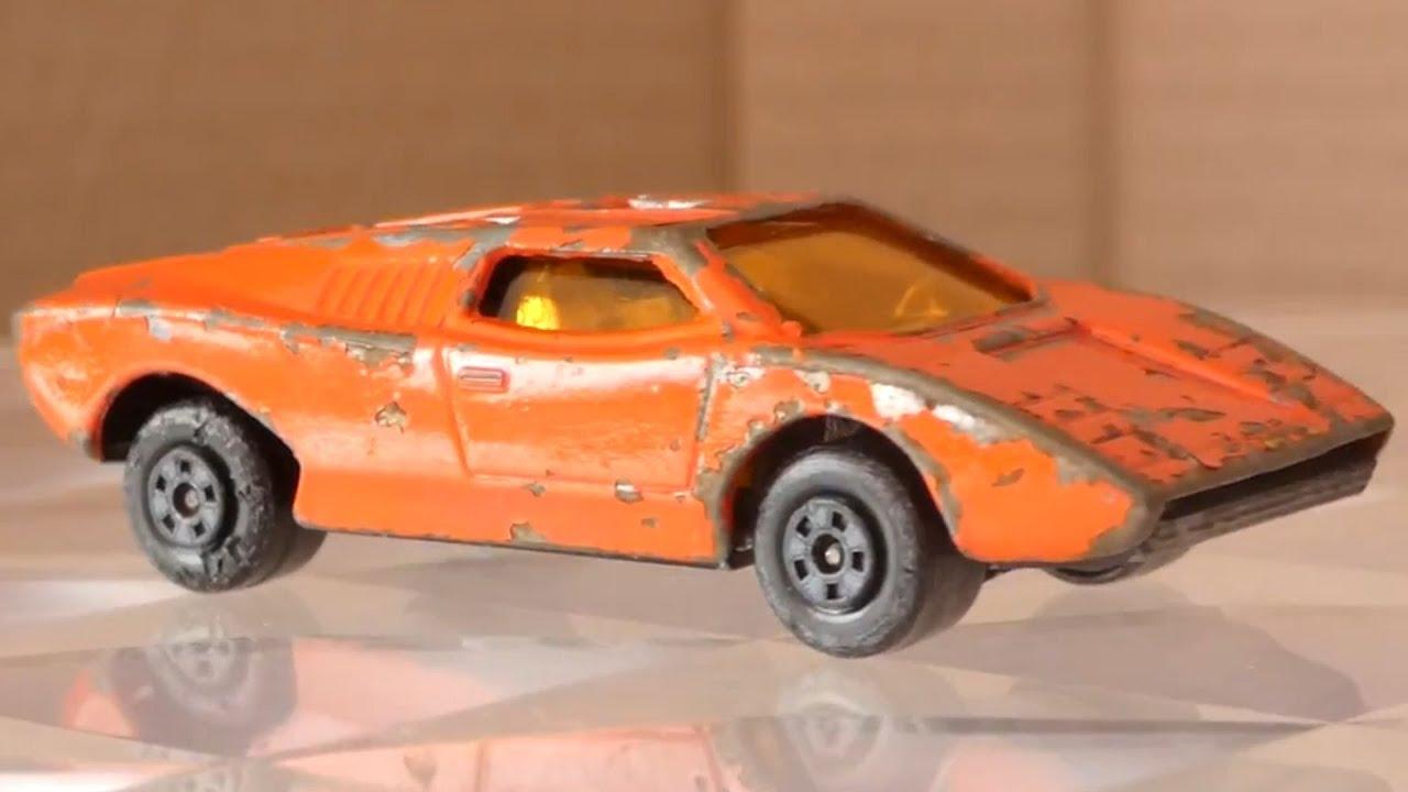Matchbox Lamborghini Countach Code 3 Restoration Youtube